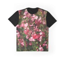 Small And Pink Flowers Sylvia Sage Graphic T-Shirt