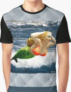 Mermaid ~ Feeling Free   Graphic T-Shirt
