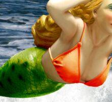 Mermaid ~ Feeling Free   Sticker