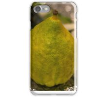 Etrog iPhone Case/Skin