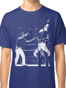 Jerry Lawler Piledriving Andy Kaufman Vector Classic T-Shirt