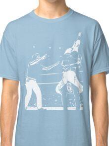 Jerry Lawler Piledriving Andy Kaufman Vector Classic T-Shirt