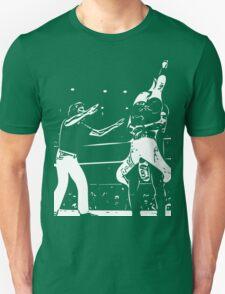 Jerry Lawler Piledriving Andy Kaufman Vector Unisex T-Shirt