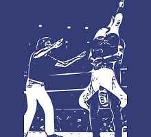 Jerry Lawler Piledriving Andy Kaufman Vector Unisex T-Shirt