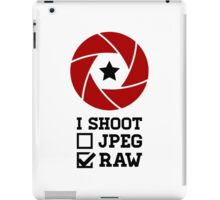 I Shoot? - Photography iPad Case/Skin