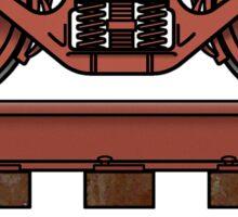 Truckin', Railroad truck/railway bogie Sticker