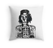 BORING SKULL Throw Pillow