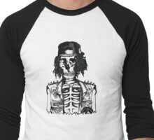 BORING SKULL Men's Baseball ¾ T-Shirt