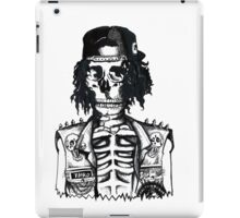 BORING SKULL iPad Case/Skin