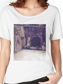 Old building Alcatraz Women's Relaxed Fit T-Shirt