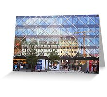 City Centre Reflections Copenhagen Greeting Card
