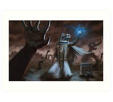 Dark Acolyte Art Print