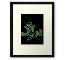 Arrow City Framed Print