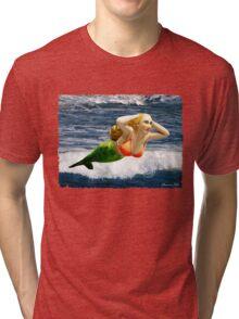 Mermaid ~ Feeling Free   Tri-blend T-Shirt