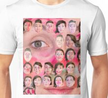 Make-up Performance Explortion Documentation Unisex T-Shirt