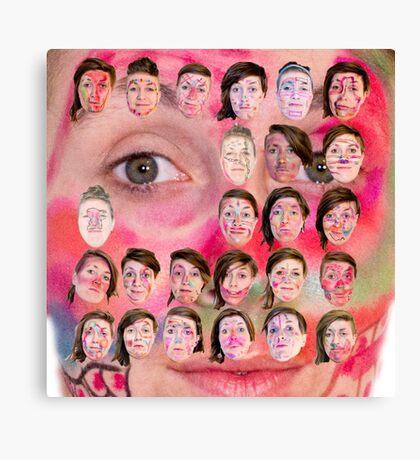 Make-up Performance Explortion Documentation Canvas Print