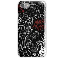 WTD Worst Mistakes iPhone Case/Skin