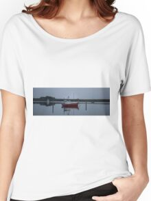 A boat in the harbour is safe Women's Relaxed Fit T-Shirt