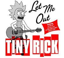 Tiny Rick Album Cover Photographic Print