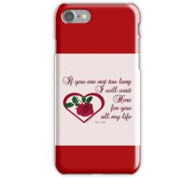 Forever My Love iPhone Case/Skin