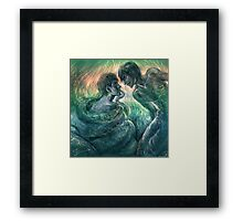 Consort of the Serpent King Framed Print