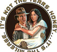 Indiana Jones - It's Not the Years, It's the Mileage. by Adam McDaniel