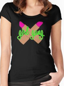 Girl gang Women's Fitted Scoop T-Shirt