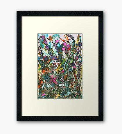 The Dark Garden - Kerry Beazley Framed Print
