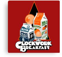 Clockwork Breakfast Canvas Print