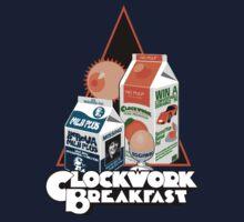 Clockwork Breakfast Kids Tee