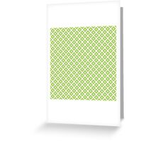 Abstract pattern ornament modern geometric stylish simple background Greeting Card