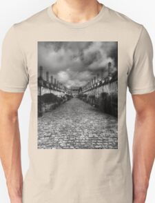 Vicar's Close Wells Somerset England Unisex T-Shirt