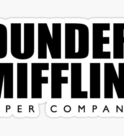 Dunder Mifflin, Inc Paper Company Sticker