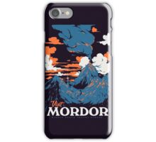 Visit Mordor iPhone Case/Skin