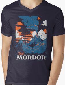 Visit Mordor Mens V-Neck T-Shirt