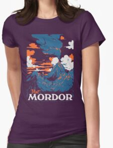 Visit Mordor Womens Fitted T-Shirt