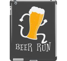 Funny Beer Run T Shirt iPad Case/Skin