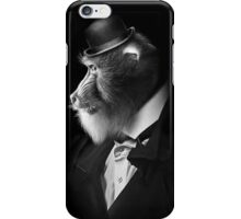 EXECUTIVE BABOON iPhone Case/Skin