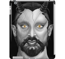 Mr. Black iPad Case/Skin