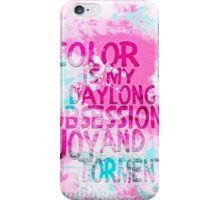 Color Obsession iPhone Case/Skin