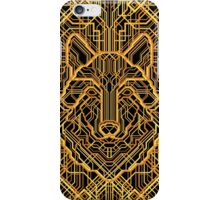 Art Deco Wolf iPhone Case/Skin