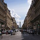 Paris Street Scene 2 by Steven Guy