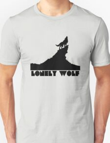 Lonely Wolf Funny Men's Tshirt Unisex T-Shirt