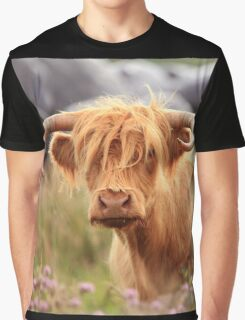 Hieland Coo III Graphic T-Shirt