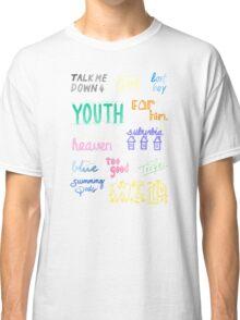 blue neighborhood doodles Classic T-Shirt