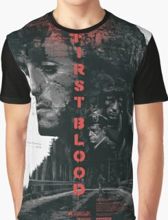 FIRST BLOOD  Graphic T-Shirt