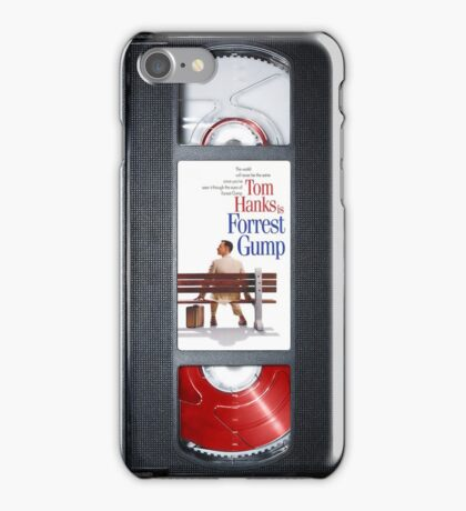 Forrest Gump vhs case iPhone Case/Skin