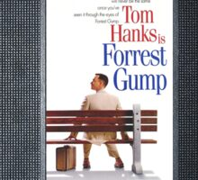 Forrest Gump vhs case Sticker