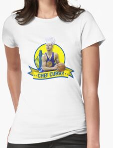 Chef Curry Womens Fitted T-Shirt