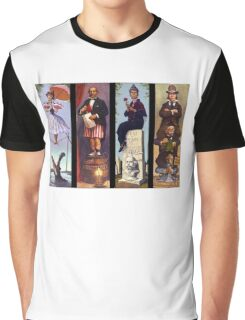 Haunted mansion all character Graphic T-Shirt